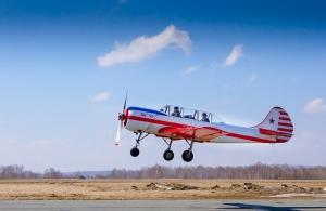 Полет на самолете ЯК52
